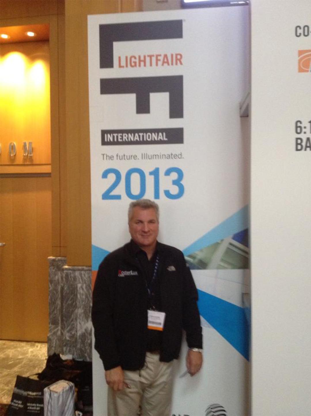 Jim Doster at Lightfair 2011 in Philadelphia PA